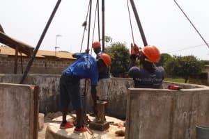 The Water Project: Lungi, New London, #10 Dankama Street -  Drilling