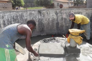 The Water Project: Lungi, New London, #10 Dankama Street -  Pad Construction