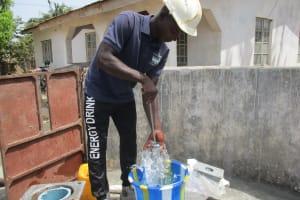 The Water Project: Lungi, New London, #10 Dankama Street -  Staff Testing Cylinder
