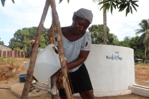 The Water Project: Lungi, Mahera, #5 MacAuley Street -  Demonstrating Handwashing