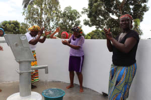 The Water Project: Lungi, Mahera, #5 MacAuley Street -  Community People Singing And Celebrating