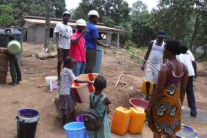 The Water Project: Lungi, Mahera, #5 MacAuley Street -  Yield Test