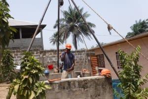 The Water Project: Lungi, Tardi, Khodeza Community School -  Bailing