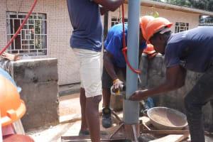 The Water Project: Lungi, Tardi, Khodeza Community School -  Drilling