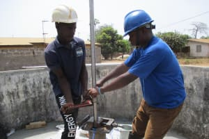 The Water Project: Lungi, New London, #10 Dankama Street -  Sierrra Pump Installation