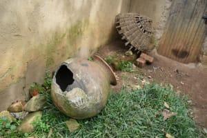 The Water Project: Mundoli Community, Pamela Atieno Spring -  Broken Water Pot