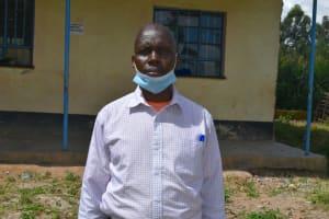 The Water Project: Boyani Primary School -  Headteacher Mr Kibet Samoei