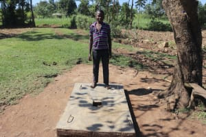 The Water Project: Mahira Community, Anunda Spring -  Complete Sanplat