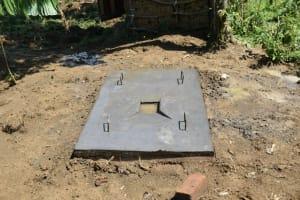 The Water Project: Shitavita Community, Patrick Burudi Spring -  Finished Sanplat