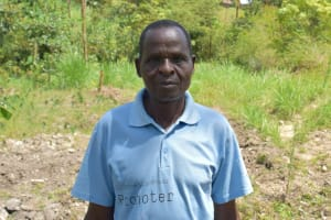 The Water Project: Lukala C Community, Livaha Spring -  Mr Charles Muhuyi