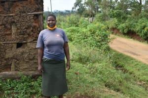 The Water Project: Silungai B Community, Tali Saya Spring -  Ruth Tali