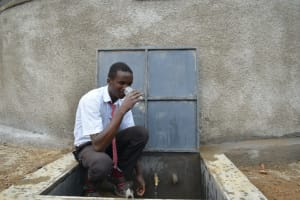 The Water Project: Kinu Friends Secondary School -  Drink Up