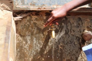 The Water Project: Mukoko Baptist Primary School -  Water Flowing With The Twist Of A Tap