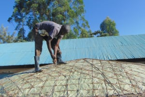 The Water Project: Ivakale Primary School & Community - Rain Tank 1 -  Dome Work