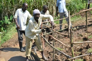 The Water Project: Shitavita Community, Patrick Burudi Spring -  Fencing