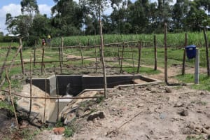 The Water Project: Makale Community, Luyingo Spring -  Completed Spring