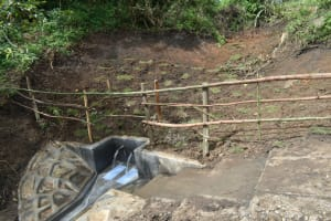 The Water Project: Silungai B Community, Tali Saya Spring -  Completed Spring