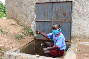 The Water Project: Mukoko Baptist Primary School -  Cheers To Clean Water
