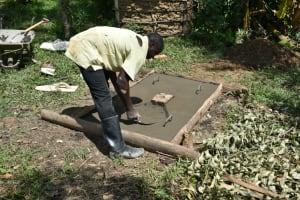The Water Project: Shitavita Community, Patrick Burudi Spring -  Sanplat Construction