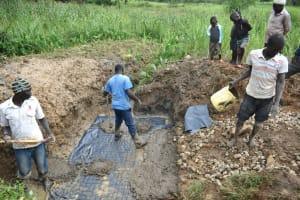 The Water Project: Shitavita Community, Patrick Burudi Spring -  Casting Foundation Slab
