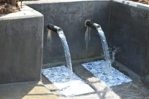 The Water Project: Shitavita Community, Patrick Burudi Spring -  Clean Water Flows