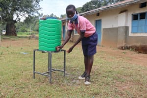 The Water Project: Kapkoi Primary School -  Handwashing