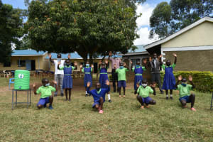 The Water Project: Boyani Primary School -  Clean Hands For All With Handwashing Stations