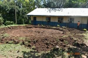The Water Project: Isango Primary School -  Rain Tank Excavation