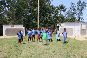 The Water Project: Mukoko Baptist Primary School -  Clean Hands And Safe Latrines For All