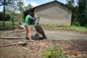 The Water Project: Isango Primary School -  Setting The Foundation