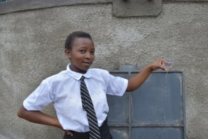 The Water Project: Kinu Friends Secondary School -  Edith