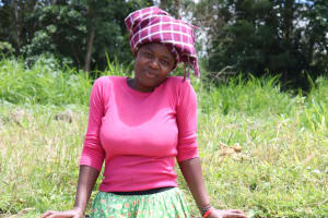 The Water Project: Luyeshe Community, Matolo Spring -  Fetching Water