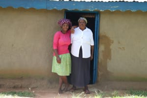The Water Project: Luyeshe Community, Matolo Spring -  Rose With Her Mom At Home