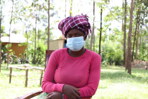 The Water Project: Luyeshe Community, Matolo Spring -  Rose Masked Up