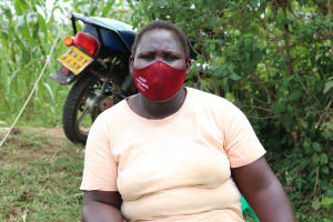The Water Project: Luvambo Community, Timona Spring -  Masked Up