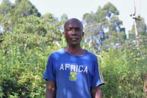 The Water Project: Rosterman Community, Kidiga Spring -  David Kidiga Odeno