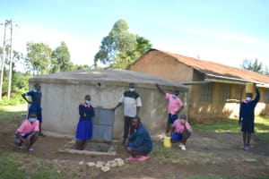 The Water Project:  Posing At The Water Point
