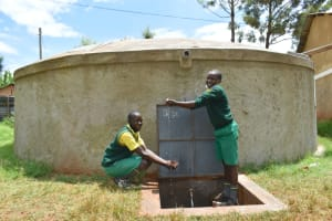 The Water Project: Gamalenga Primary School -  Celebrating Clean Water