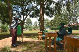 The Water Project: Gamalenga Primary School -  Demontration On Handwashing