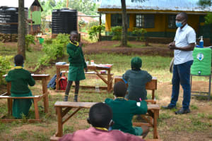 The Water Project: Gamalenga Primary School -  Dental Hygiene Training