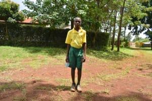 The Water Project: Gamalenga Primary School -  Edwin