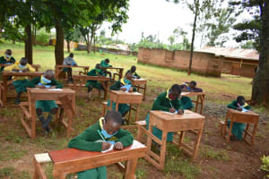 The Water Project: Gamalenga Primary School -  Taking Notes At Training