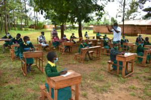 The Water Project: Gamalenga Primary School -  Training In Progress