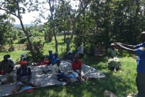 The Water Project: Mahira Community, Anunda Spring -  Mr Moses Kanari Addressing Participants