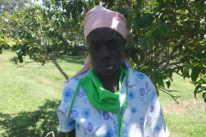 The Water Project: Mahira Community, Anunda Spring -  Rael Mawanyi
