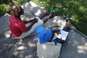 The Water Project: Mahira Community, Anunda Spring -  Women Following The Training