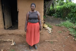 The Water Project: Mundoli Community, Pamela Atieno Spring -  Florence Onganyo