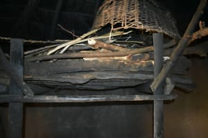 The Water Project: Mundoli Community, Pamela Atieno Spring -  Traditionally Made Firewood Rack