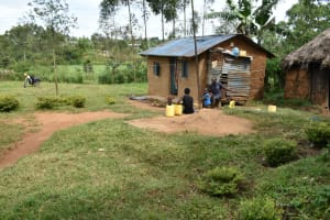 The Water Project: Mundoli Community, Pamela Atieno Spring -  At Home