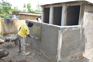 The Water Project: Isango Primary School -  Construction Of Vip Latrines